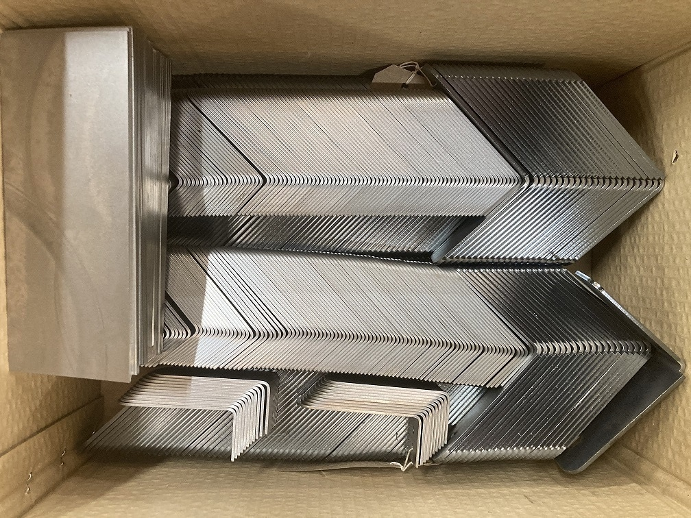 High Volume laser cut and pressed parts ready for despatch 1