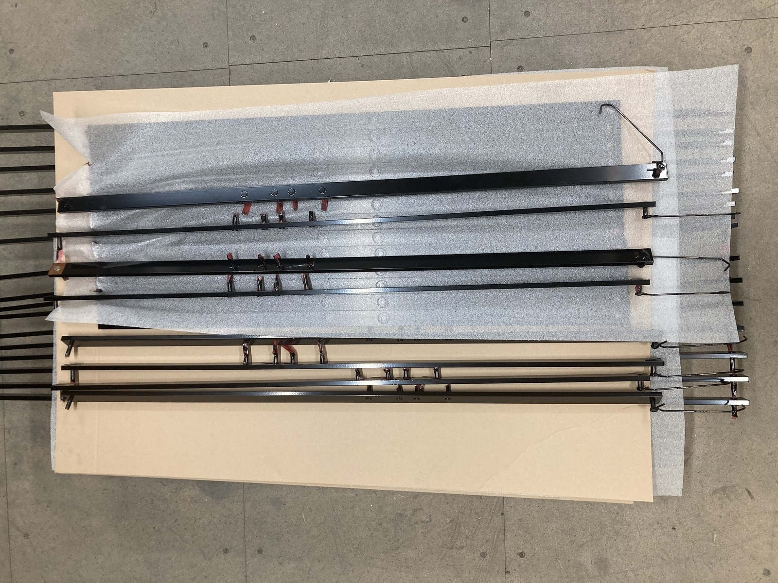 Painted High Voltage BUS bars for Arrival Ltd 2