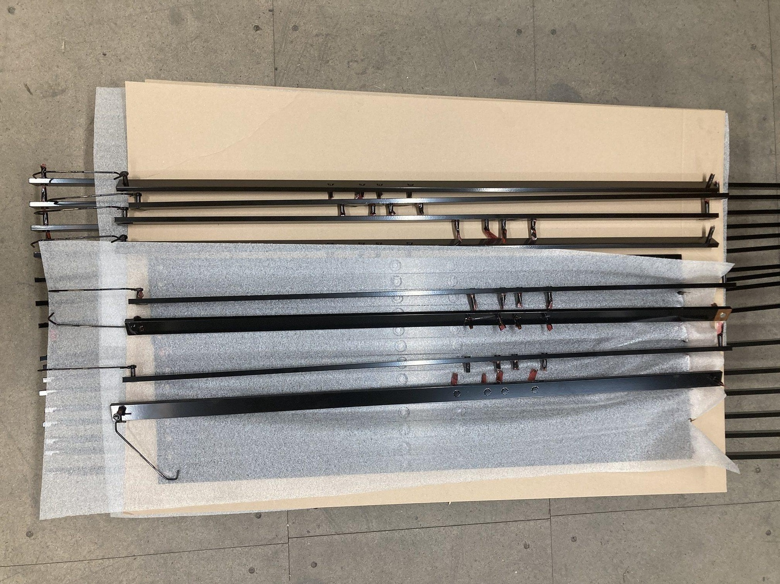 Painted High Voltage BUS bars for Arrival Ltd