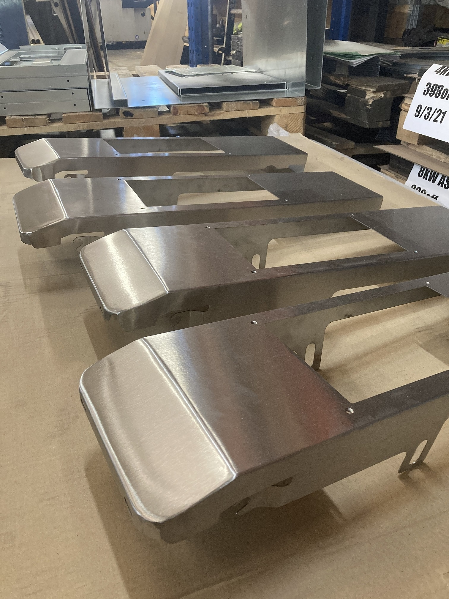 Welded and Polished Stainless Steel Covers